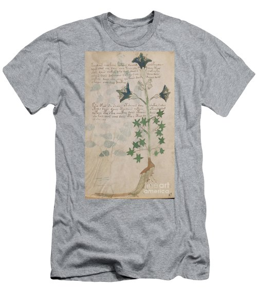Voynich Flora 03 Men's T-Shirt (Athletic Fit)
