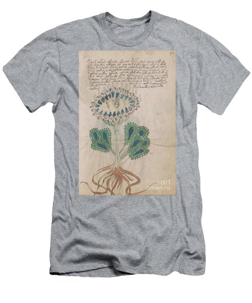 Voynich Flora 11 Men's T-Shirt (Athletic Fit)