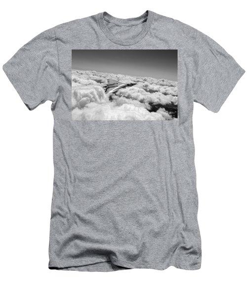 Vulcan Sheen Bw Version Men's T-Shirt (Athletic Fit)