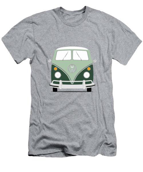 Vw Bus Green Men's T-Shirt (Athletic Fit)