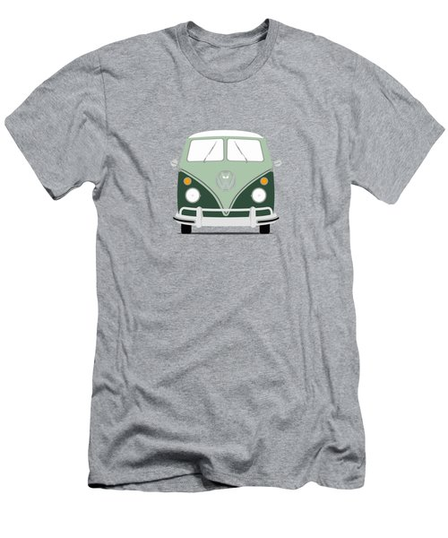 Vw Bus Green Men's T-Shirt (Slim Fit)