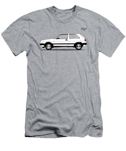 Vw Golf Gti Men's T-Shirt (Slim Fit) by Mark Rogan