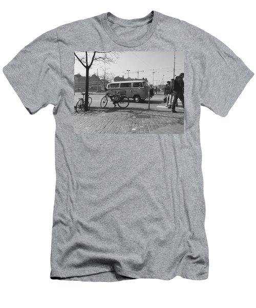 Vw Oldie Men's T-Shirt (Slim Fit) by Andy Langemann