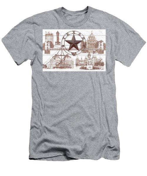 Waco Texas Men's T-Shirt (Athletic Fit)