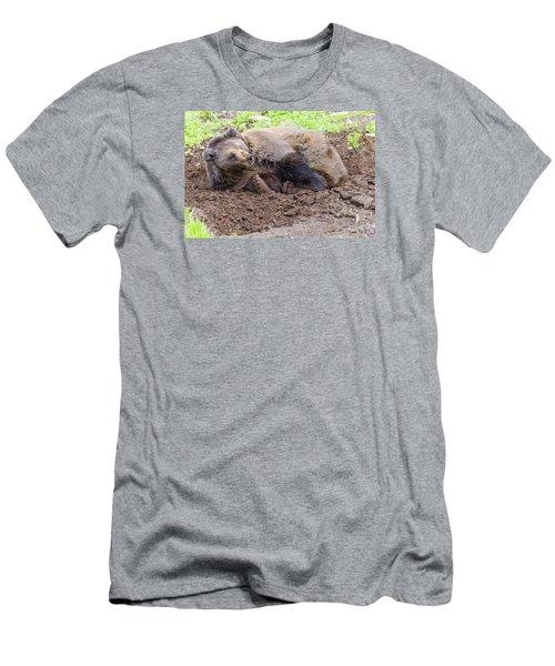 Waddya Want Men's T-Shirt (Slim Fit) by Harold Piskiel