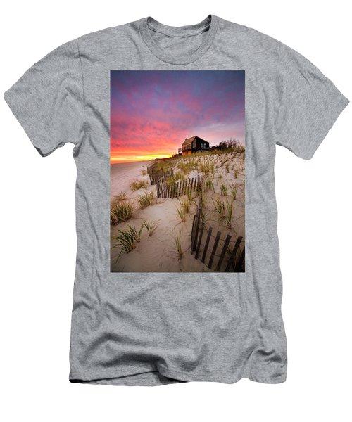 Wainscott Sunset Men's T-Shirt (Athletic Fit)
