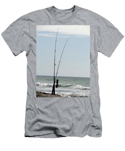 Waiting For The Bait Men's T-Shirt (Athletic Fit)