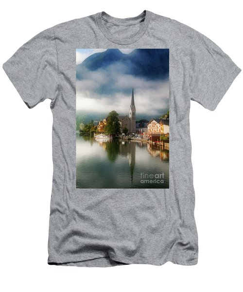 Waking Up In Hallstatt Men's T-Shirt (Athletic Fit)