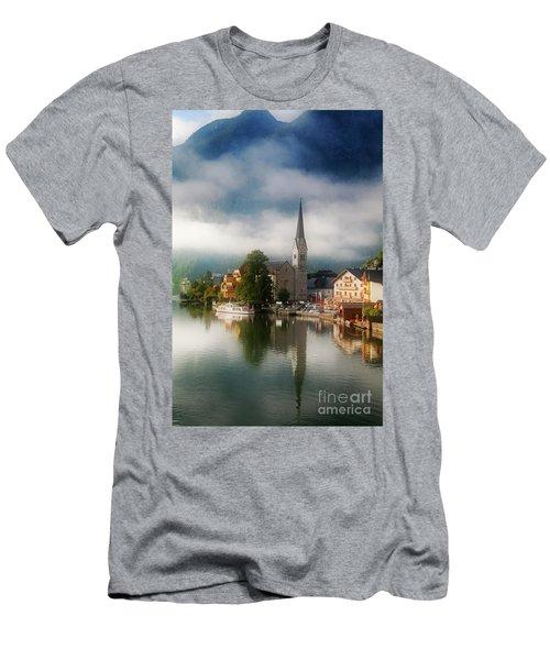 Waking Up In Hallstatt Men's T-Shirt (Athletic Fit)