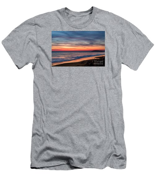 Wales Gower Coast Dusk Men's T-Shirt (Athletic Fit)