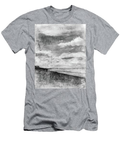 Walk Alone Men's T-Shirt (Athletic Fit)