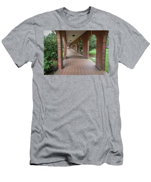 Men's T-Shirt (Slim Fit) featuring the photograph Walk Of Honor 6 by Gregory Daley  PPSA