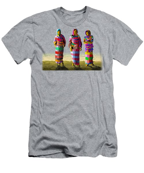 Walk The Talk Men's T-Shirt (Athletic Fit)
