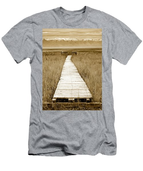Walk With Me 1 Men's T-Shirt (Athletic Fit)