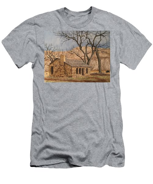 Walker Homestead In Escalante Canyon Men's T-Shirt (Athletic Fit)