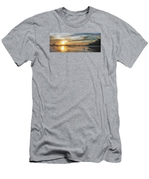 Walking In The Sun Men's T-Shirt (Athletic Fit)