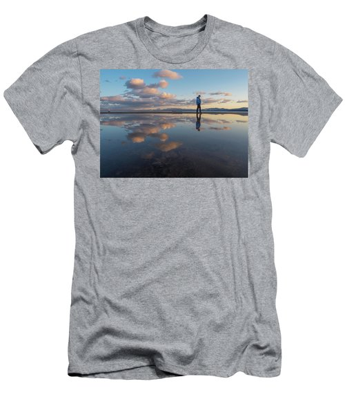 Walking In The Sunset Men's T-Shirt (Athletic Fit)