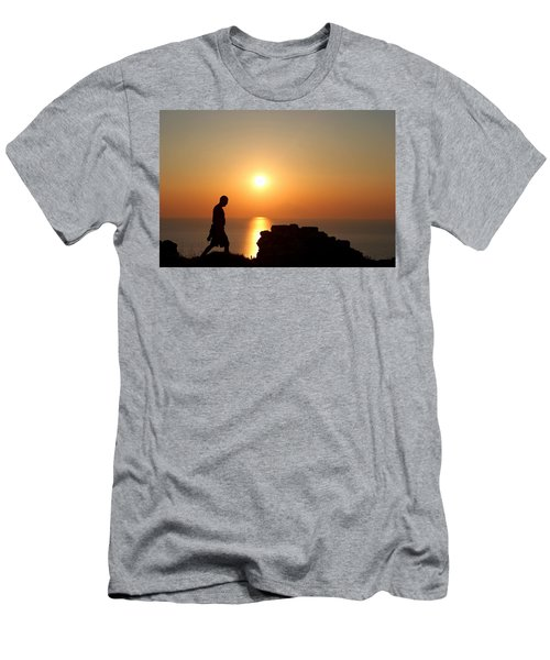 Walking Paradise Men's T-Shirt (Athletic Fit)