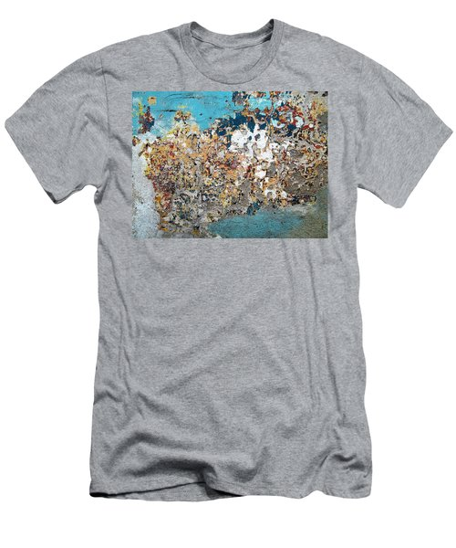 Wall Abstract 106 Men's T-Shirt (Athletic Fit)