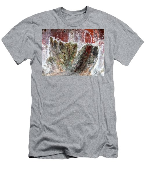 Wall Abstract 144 Men's T-Shirt (Slim Fit) by Maria Huntley