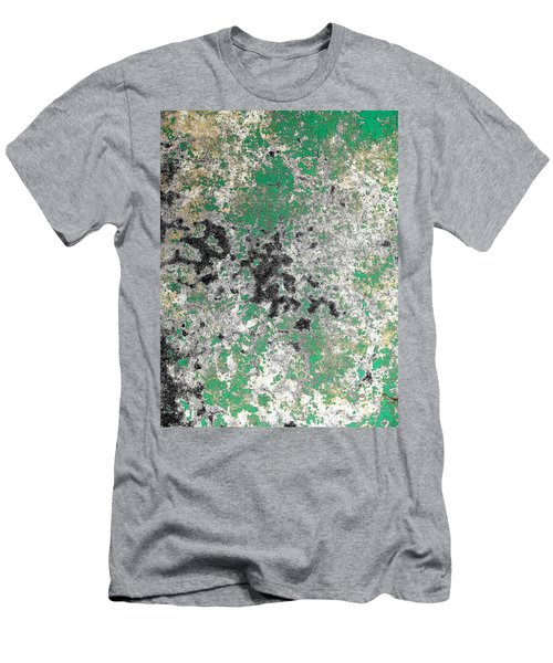 Wall Abstract 160 Men's T-Shirt (Slim Fit) by Maria Huntley