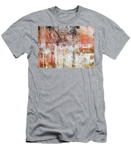 Wall Abstract  183 Men's T-Shirt (Slim Fit) by Maria Huntley
