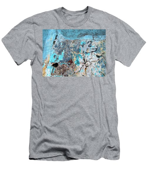 Wall Abstract 211 Men's T-Shirt (Athletic Fit)