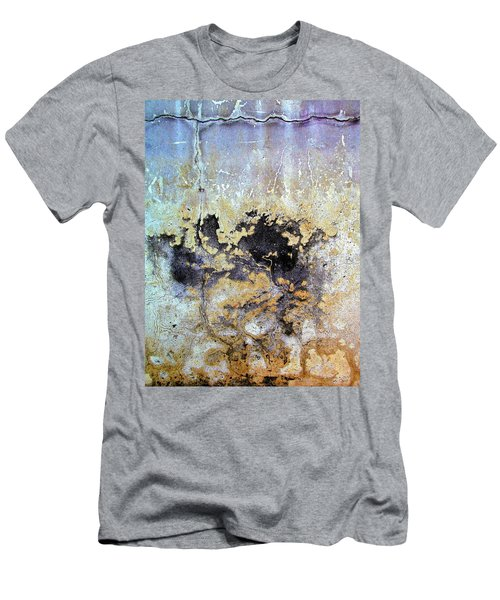 Wall Abstract 68 Men's T-Shirt (Slim Fit) by Maria Huntley