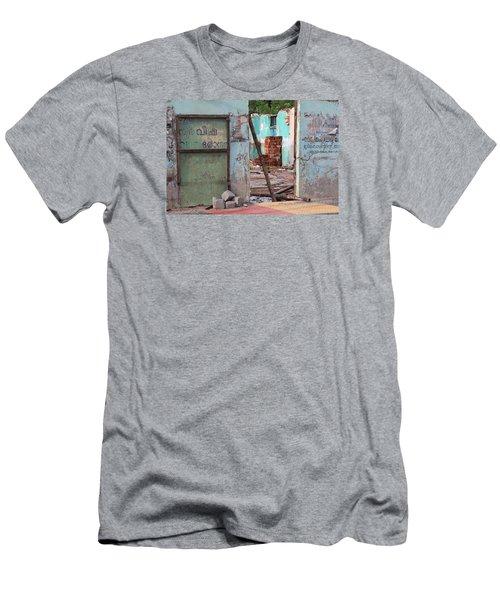 Wall, Door, Open Space In Kochi Men's T-Shirt (Athletic Fit)