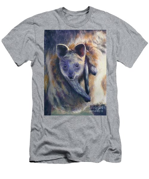 Men's T-Shirt (Athletic Fit) featuring the painting Wallaby Joey by Ryn Shell