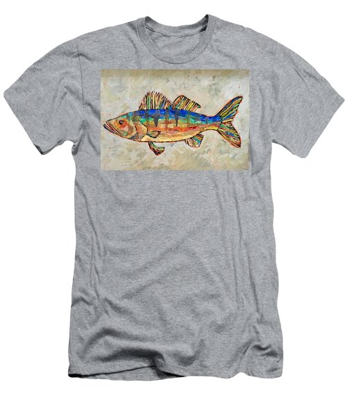 Walter The Walleye Men's T-Shirt (Athletic Fit)