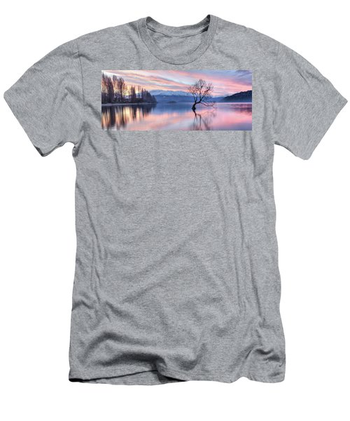 Wanaka Sunset Men's T-Shirt (Athletic Fit)