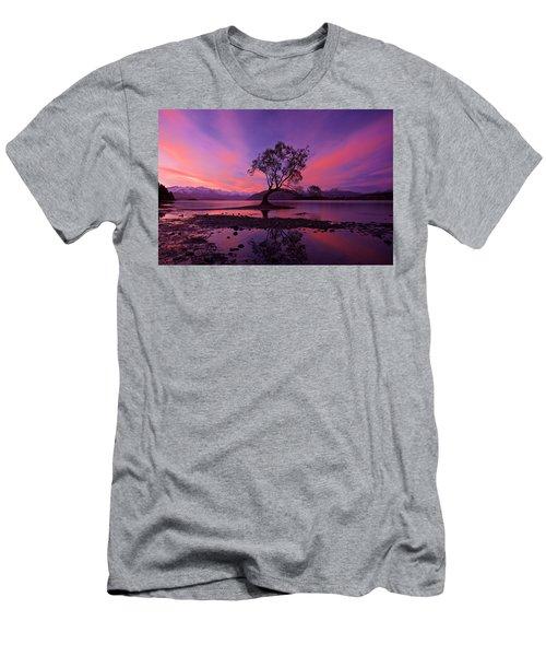 Wanaka Tree Men's T-Shirt (Slim Fit) by Evgeny Vasenev