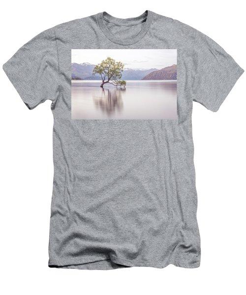 Wanaka Tree Men's T-Shirt (Slim Fit) by Racheal Christian