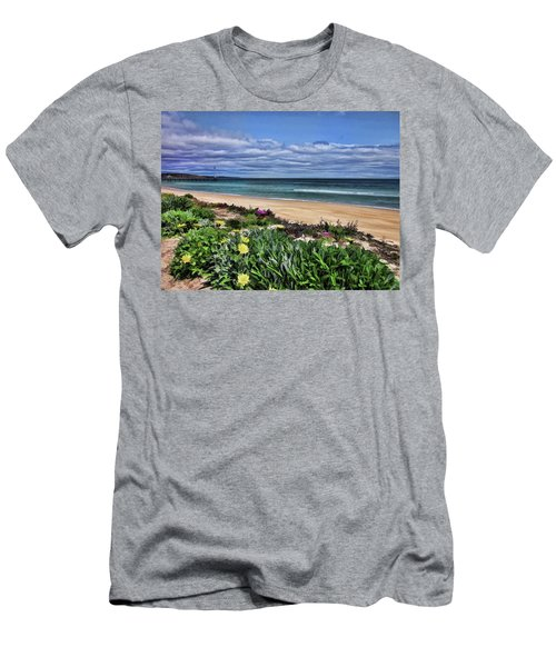 Wandering Around The Foreshore Men's T-Shirt (Athletic Fit)