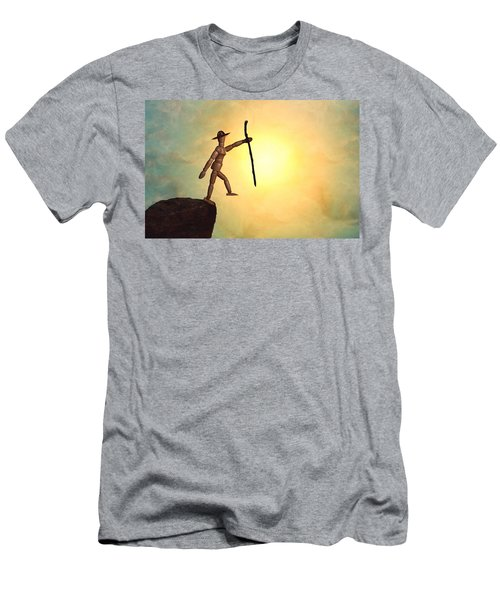 Wanderlust Men's T-Shirt (Slim Fit) by Mark Fuller