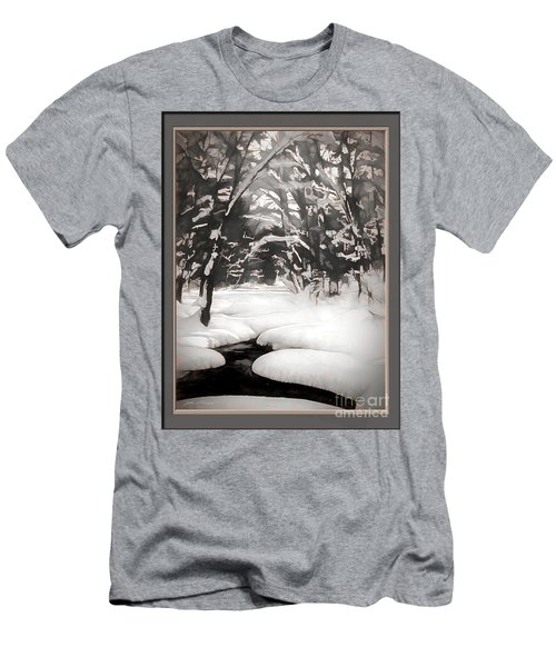 Warmth Of A Winter Day Men's T-Shirt (Athletic Fit)