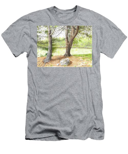 Warriors Path St Park Men's T-Shirt (Athletic Fit)
