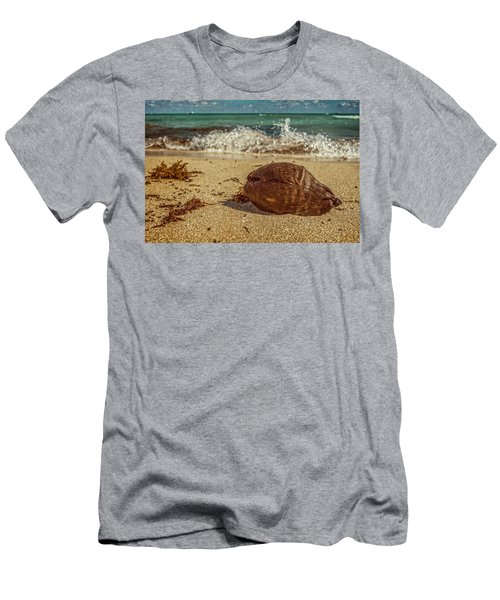 Men's T-Shirt (Athletic Fit) featuring the photograph Wash Me Away by Melinda Ledsome