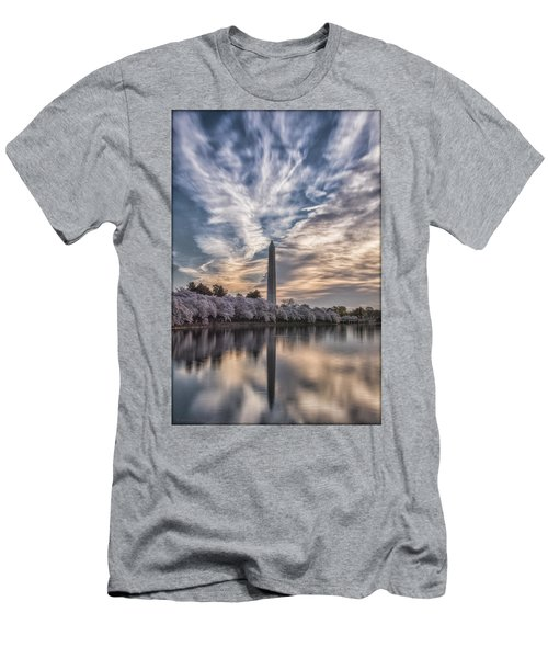 Washington Blossom Sunrise Men's T-Shirt (Athletic Fit)