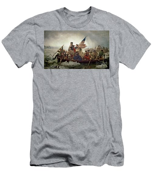 Washington Crossing The Delaware River Men's T-Shirt (Athletic Fit)