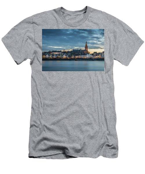Watching The City Lights, Nijmegen Men's T-Shirt (Athletic Fit)