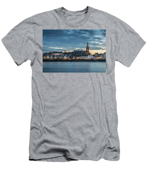 Watching The City Lights, Nijmegen Men's T-Shirt (Athletic Fit)