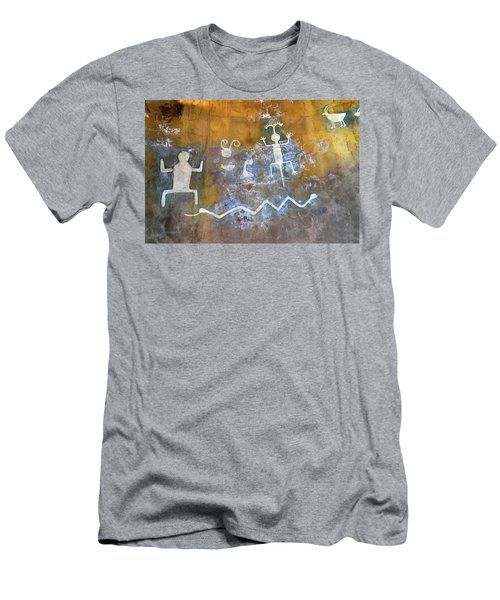 Watchtower Rock Art  Men's T-Shirt (Athletic Fit)