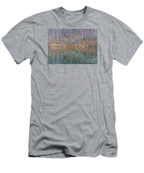 Men's T-Shirt (Slim Fit) featuring the photograph Water And Lace by Christian Mattison