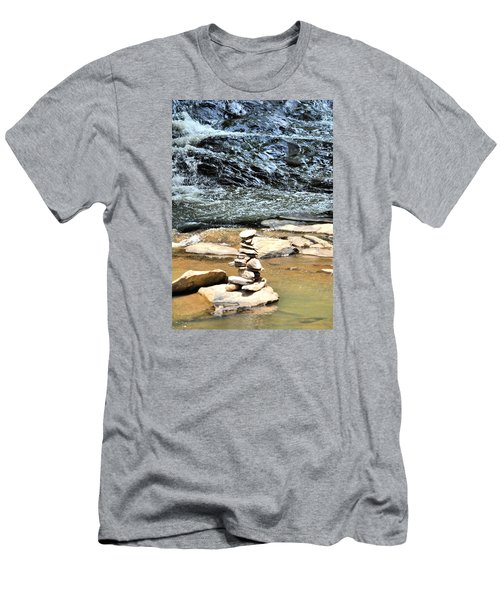 Water And Stone Men's T-Shirt (Slim Fit) by James Potts