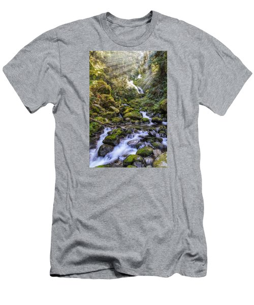 Water Dance Men's T-Shirt (Athletic Fit)