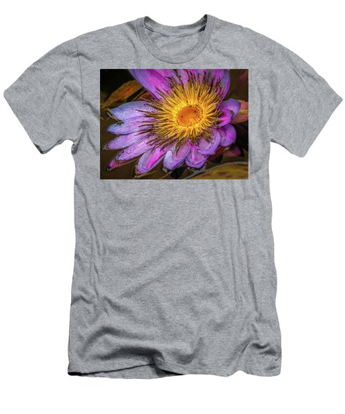 Water Flower Men's T-Shirt (Athletic Fit)