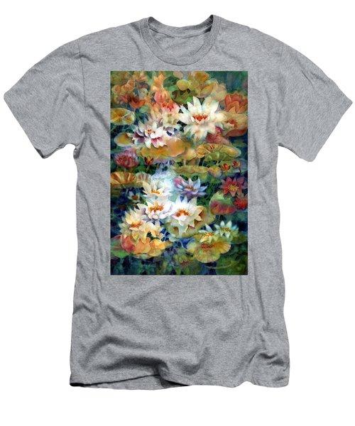 Water Garden II Men's T-Shirt (Athletic Fit)