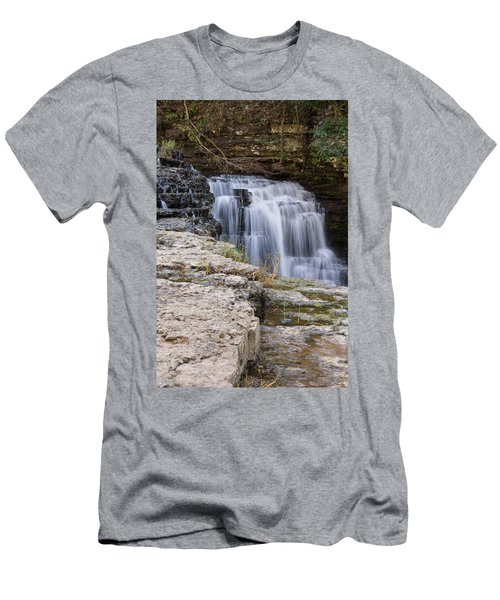 Water In Motion Men's T-Shirt (Athletic Fit)